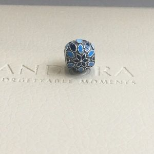 Authentic Pandora Cathedral Rose Charm